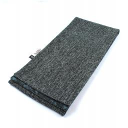 HARRIS TWEED LINED SCARF TRADITIONAL