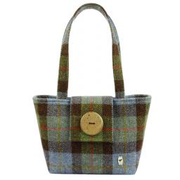 HARRIS TWEED ALBA HANDBAG MACLEOD PLAID