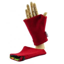 HARRIS TWEED FINGERLESS GLOVE BRIGHT