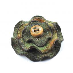HARRIS TWEED CIRCLES CORSAGE TRADITIONAL