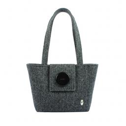 HARRIS TWEED HANDBAG ALBA HERRINGBONE