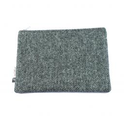 HARRIS TWEED WASH BAG SLIM TRADITIONAL
