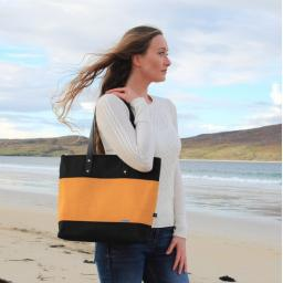 HARRIS TWEED CITY TOTE BAG