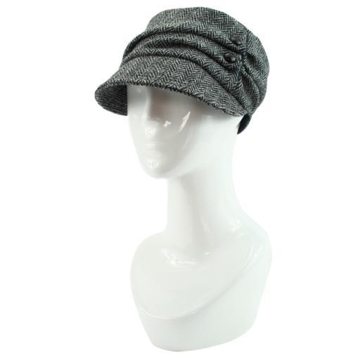 HARRIS TWEED CADET HAT