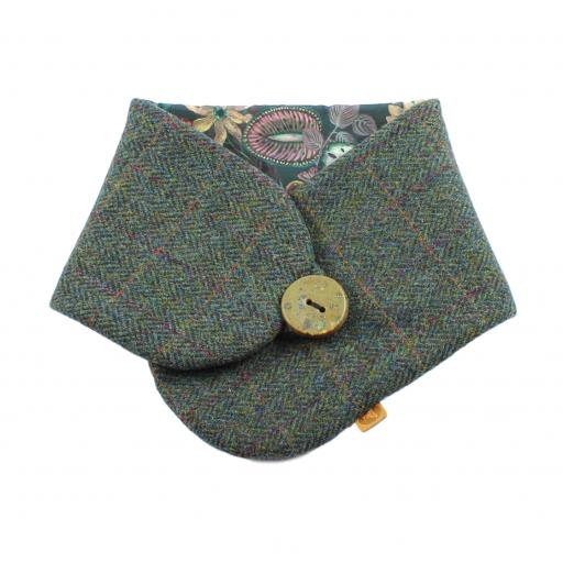 HARRIS TWEED TARBY COLLAR