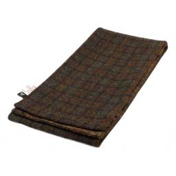 HARRIS TWEED LINED SCARF BROWN RUST GREEN CHECK_clipped_rev_1.jpg
