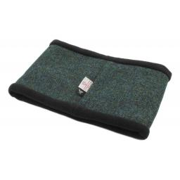 Snood Ocean Green Harris Tweed and Micro Fleece_clipped_rev_1.jpg
