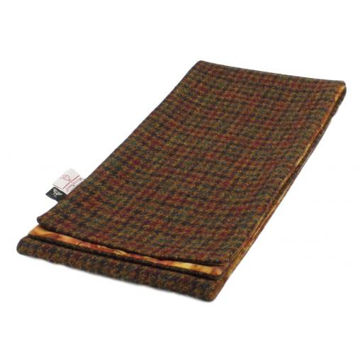 HARRIS TWEED LINED SCARF BROWN GREEN BLACK WINE DOGTOOTH CHECK_clipped_rev_1 - Copy.jpg