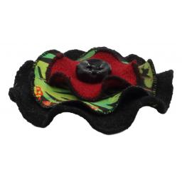 Circle Corsage Black Multi Speckle Joyous Side.jpg