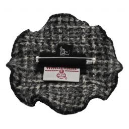 Circle Corsage Black Gray Multi Check Back.jpg