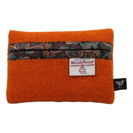 Zip Purse Orange Paisley Corals.jpg