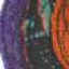 HARRIS TWEED ART DECO CORSAGE BRIGHT Swatch